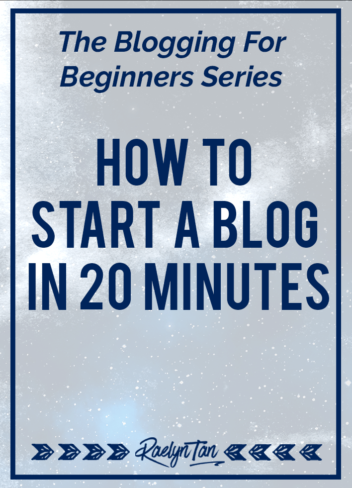 How to start a website in 20 minutes to make money blogging, using self-hosted WordPress. This is a step by step tutorial for beginners to start a blog business for profit.