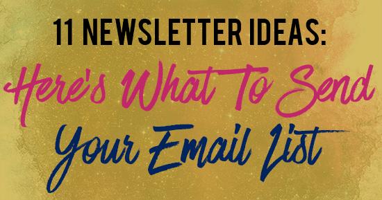 newsletter-ideas