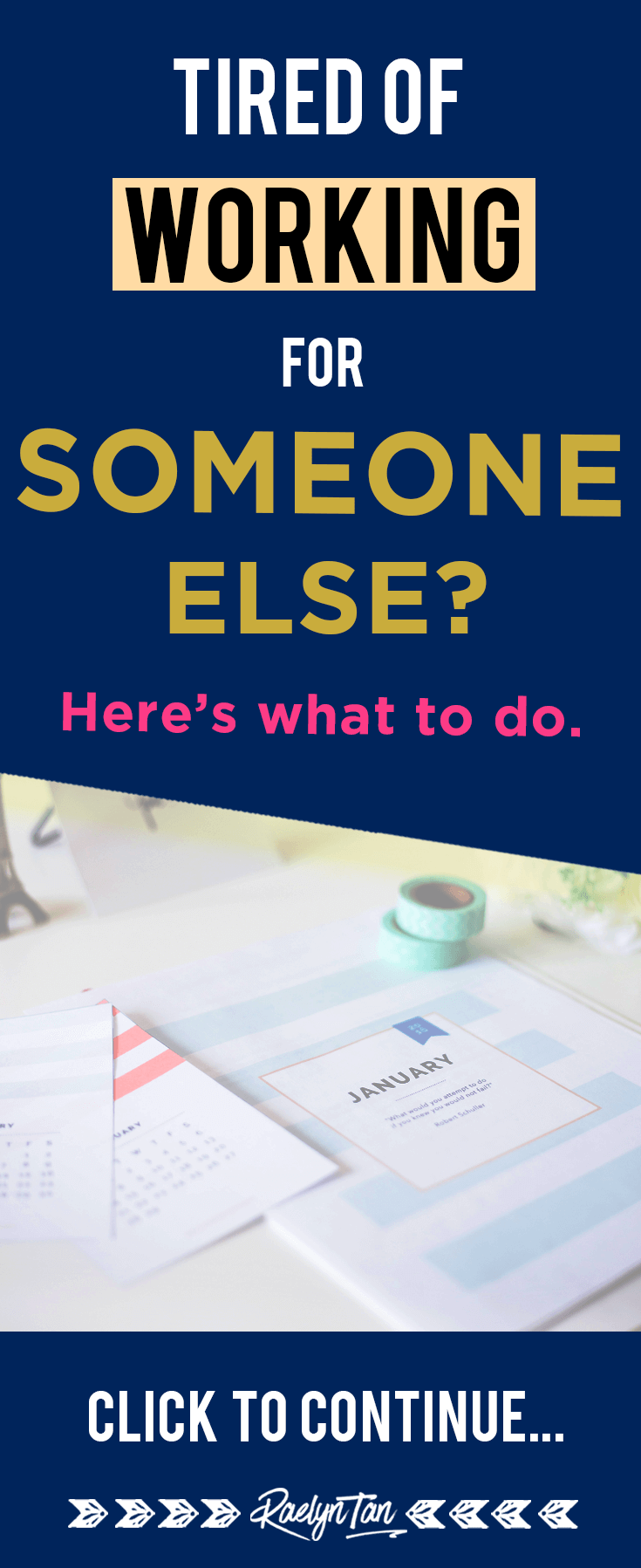 Tired of your job? Sick of working for someone else? Here's what to do next if are hoping to quit your job to become an online entrepreneur.