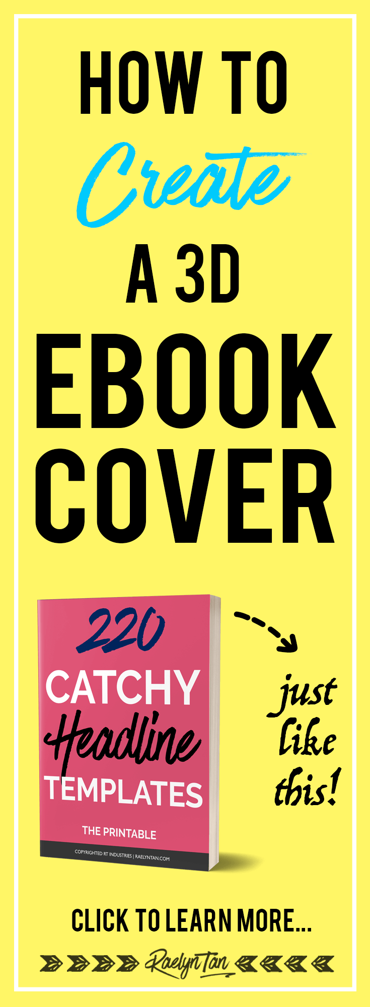Yay! How to make a 3D ebook cover in 10 minutes: DIY your ebook design and create a professional looking ebook cover in 10 minutes, using photoshop! (for free)