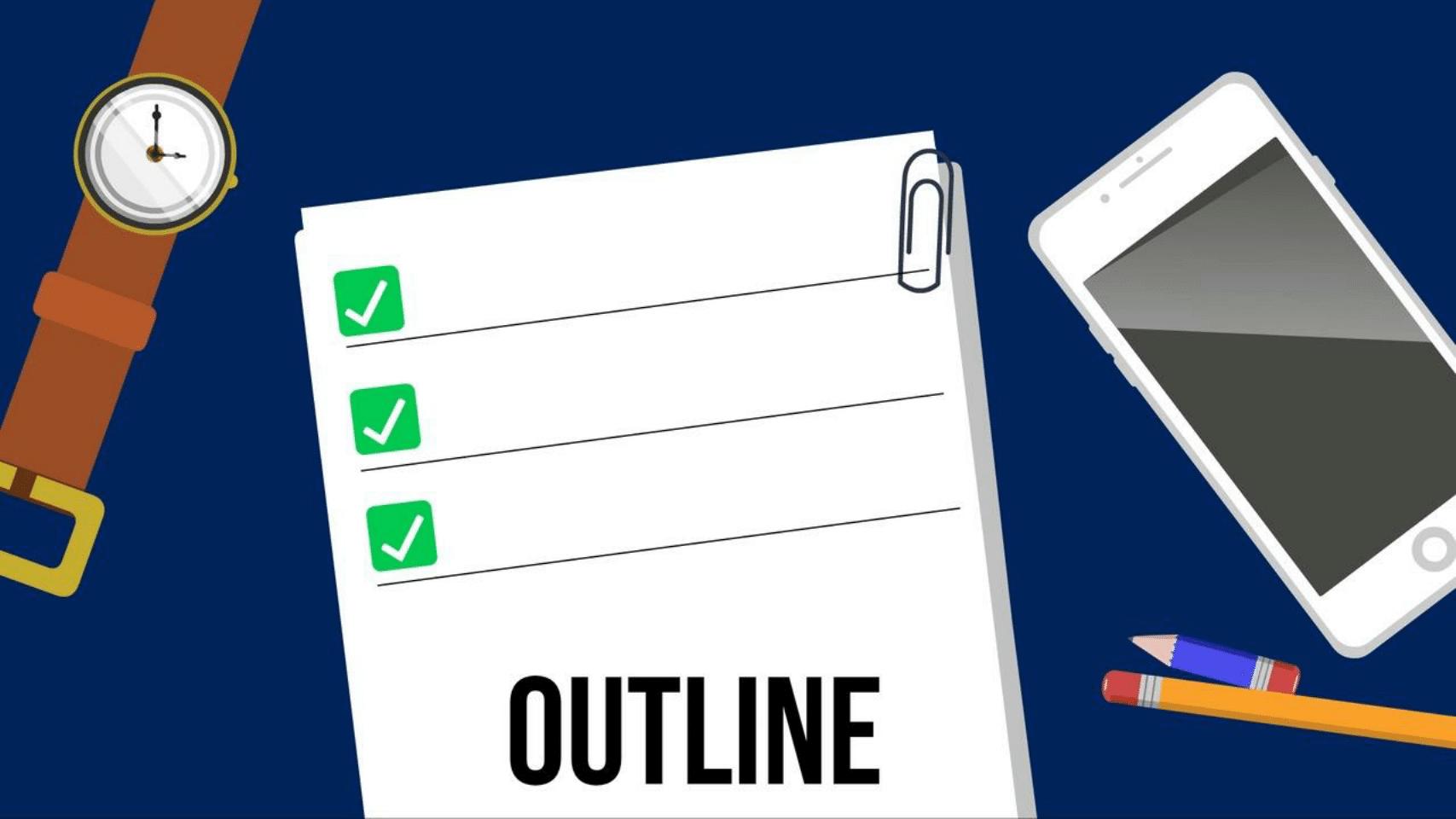 create-ebook-outline