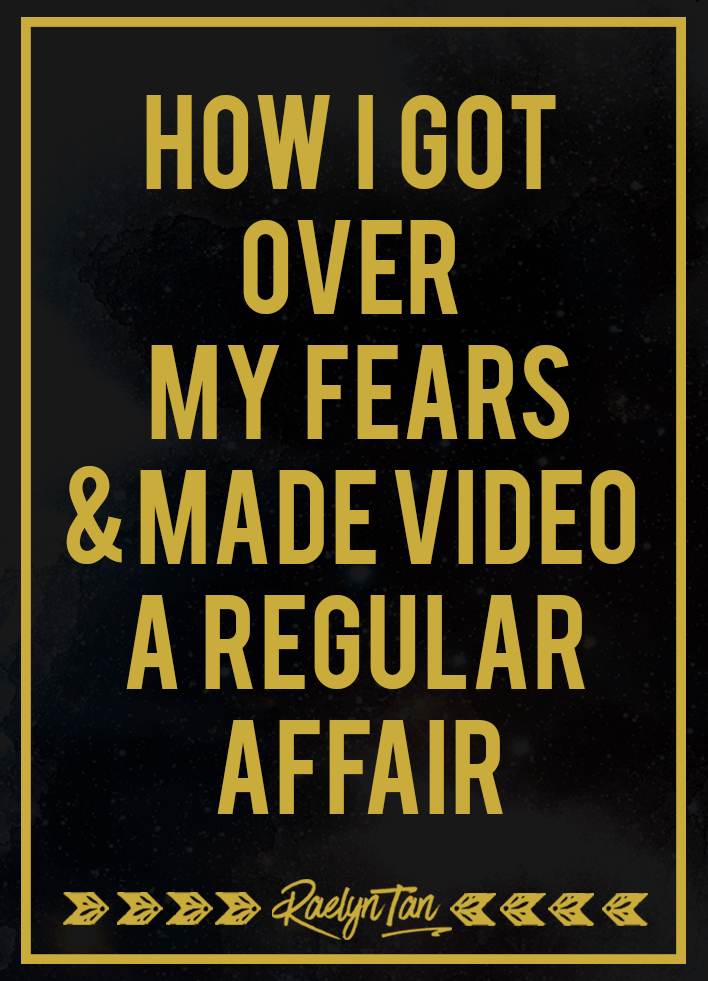 Crushing It With Video, Part 2: Learn how i got over my fears + negative mindset and started creating and recording videos online regularly & rocking video marketing.