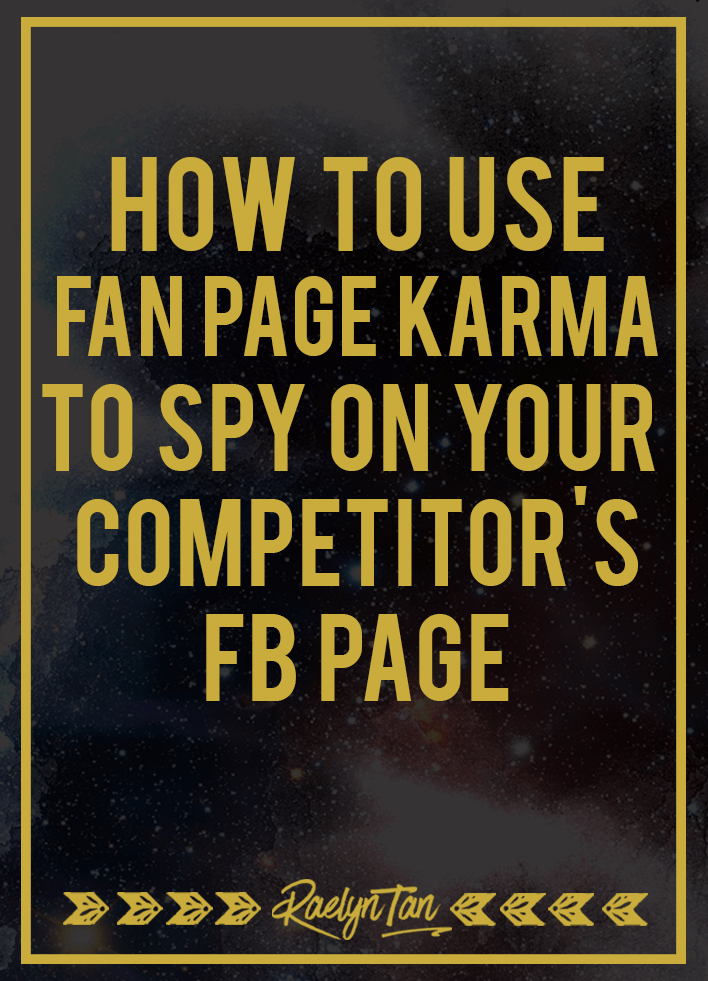 How To Spy On Your Competitor's Facebook Page With Fanpage Karma