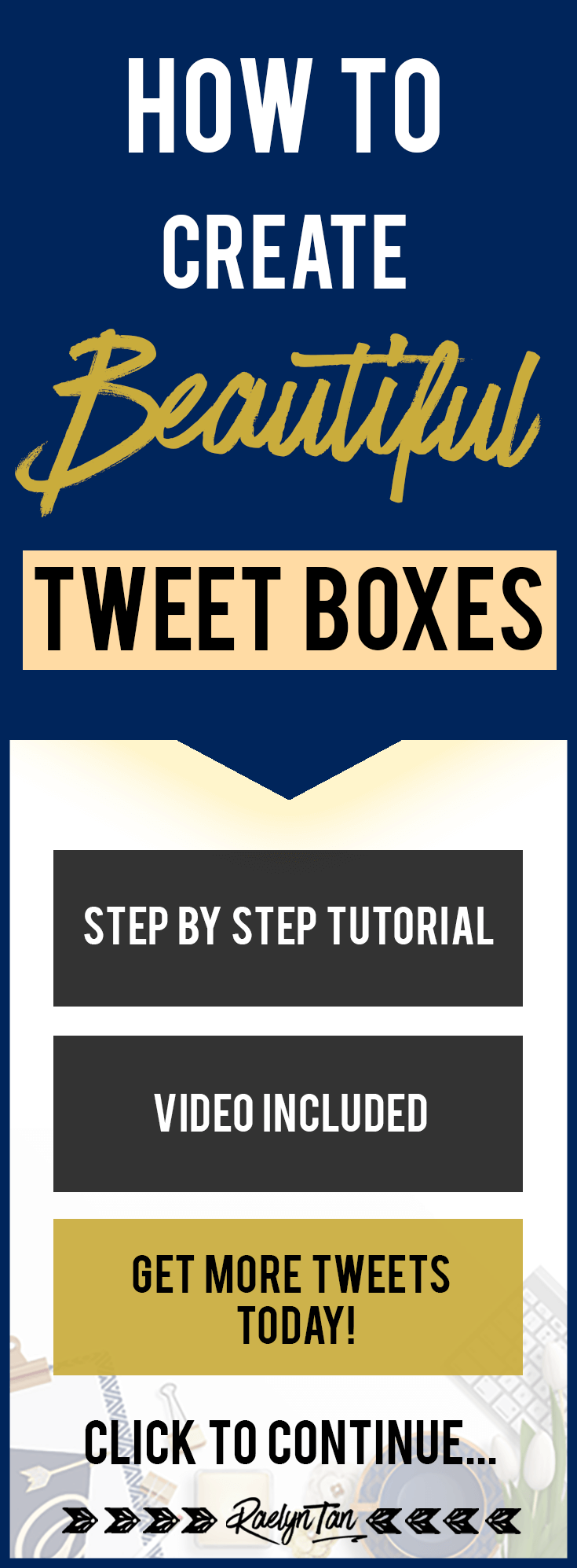 How to create beautiful tweet boxes on your website for FREE using Coschedule's free Click To Tweet WordPress plugin. This is a great way to promote your blog via your readers with social media.