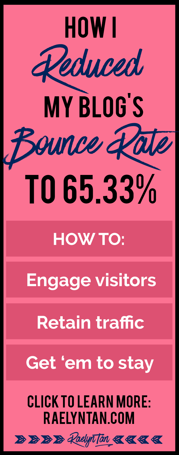 5 Powerful Ninja Tricks That Reduced My Blog's Bounce Rate to 65.33%