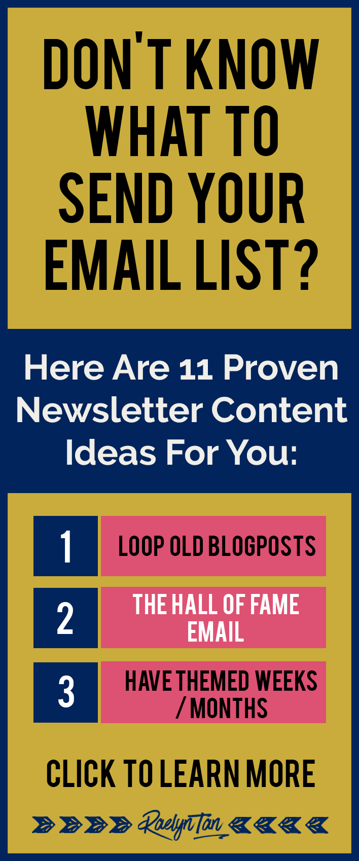 what to send your subscribers here are 11 newsletter content ideas that are absolutely amazing - Newsletter Ideas