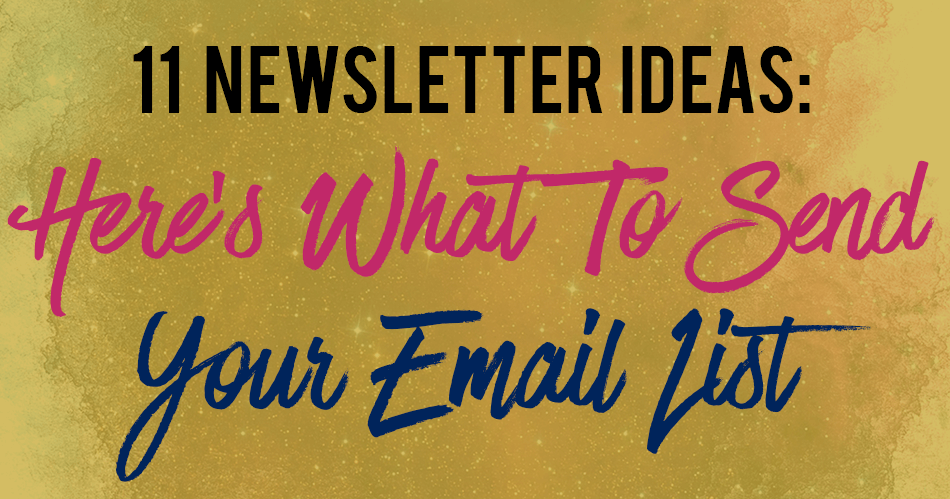 newsletter-ideas-email-list