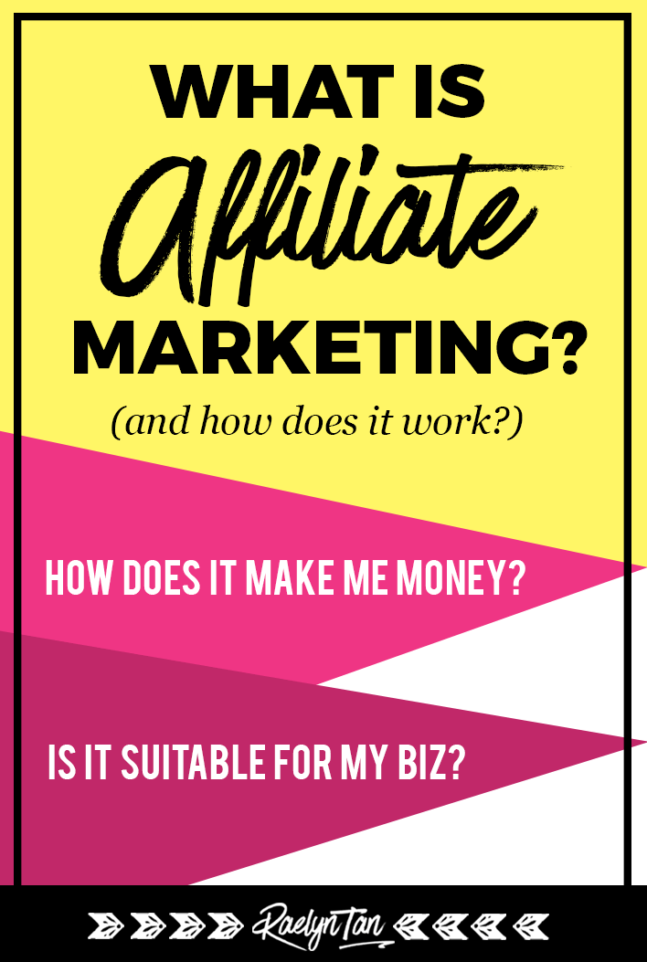What is affiliate marketing and how does it work? Affiliate marketing tips for beginner bloggers and entrepreneurs to make money! #what #is #affiliate #marketing