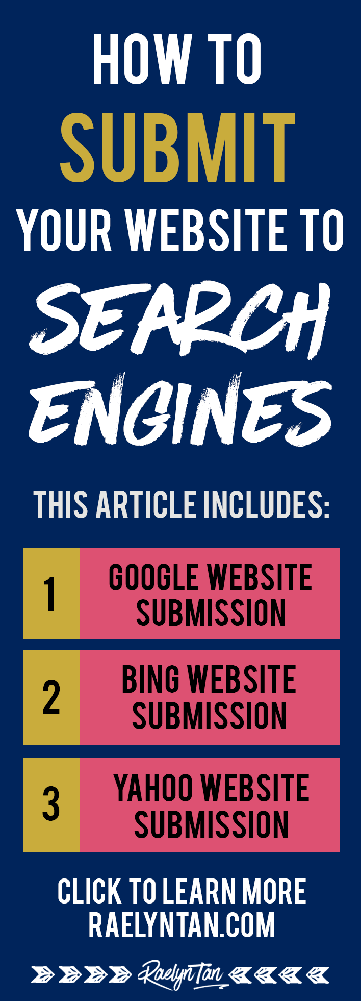 how to add website to search engines