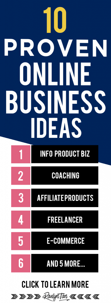 10 proven online business ideas and opportunities: Perfect for creatives starting an online business. These are proven and popular ideas!