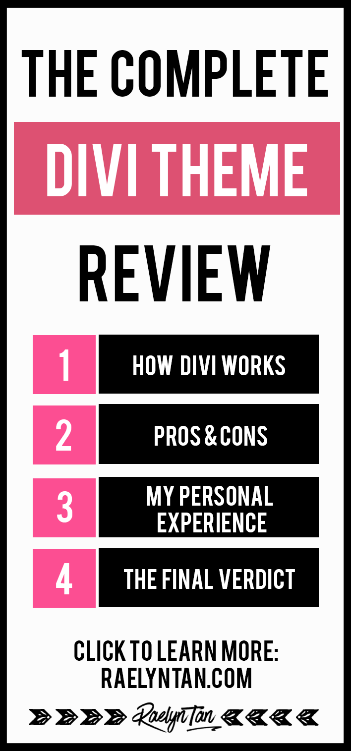 Divi Theme Review: Is the Divi theme any good? I've been using Divi for more than a year, and here is my honest review of the Divi website theme.