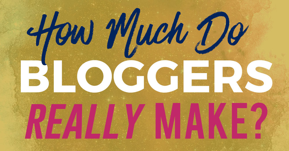 How Much Do Bloggers Really Make? (Real Bloggers Surveyed!)