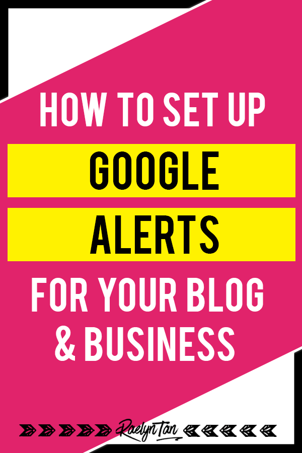 How to set up and use Google Alerts for your blog & business: Learn how to set up Google Alerts to monitor your blog + business's reputation and learn my 10 best practical tips to use Google Alerts properly!