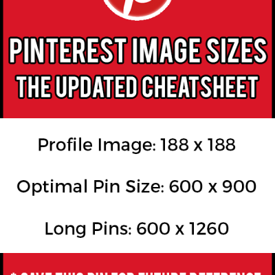 The Best Pinterest Image Size For Your Pins (Updated Guide For 2019!)