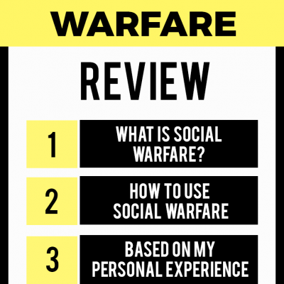 Social Warfare Review: My Personal Experience With This Sharing Plugin