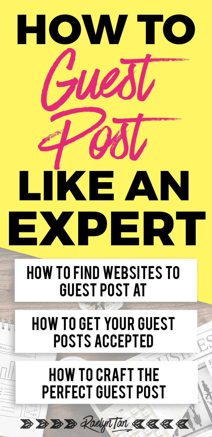 Need a guest posting strategy? Click to get guest posting ideas, tips and all the guidelines you need to guest post like a pro on blogs, how to find sites to guest post at, the tools you need, and more!