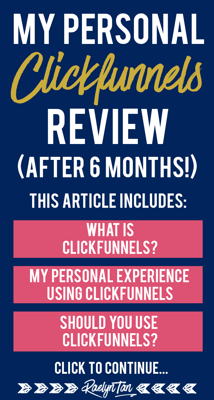 My Personal Clickfunnels Review After 6 Months (+ My Affiliate Bonuses!)