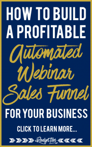 I love automated webinar sales funnels as they allow me to give massive value and make sales on autopilot! It's great for your marketing and will help your online business a ton! Here's the nuts & bolts of how you can build one too!