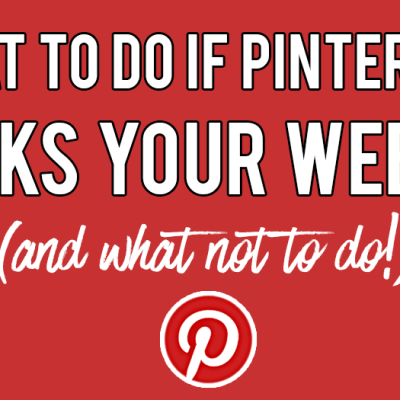 What To Do If Pinterest Blocks Your Website (I Got Unblocked In 10 Hours!)