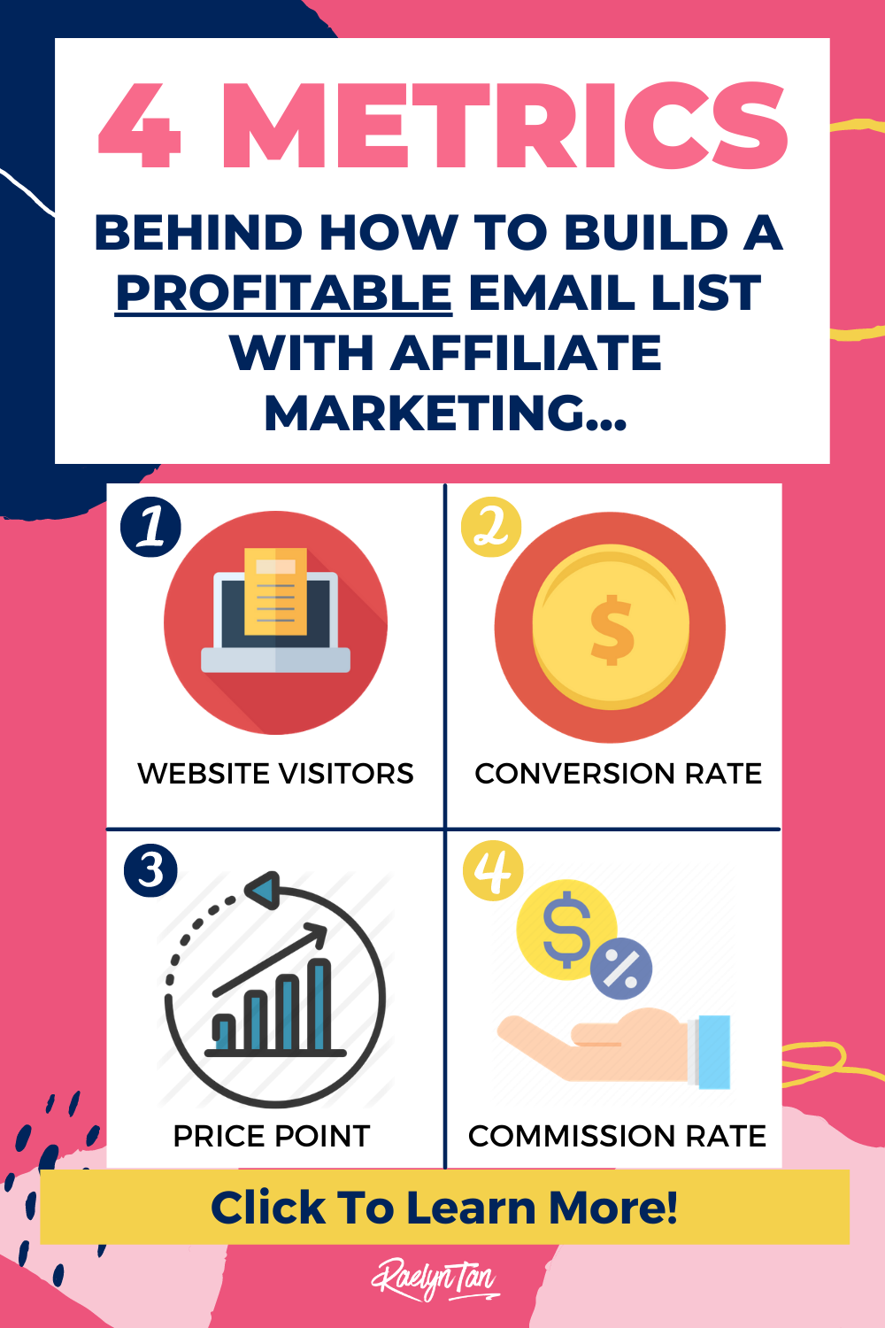 Here's how to build your email list fast for affiliate marketing. Learn my best tips & strategies for you to make money online and earn passive income with the use of affiliate links. This is a great starting guide for beginners. In this article, you'll learn the EQUATION that affiliate marketing programs and courses fail to teach you, all for free!