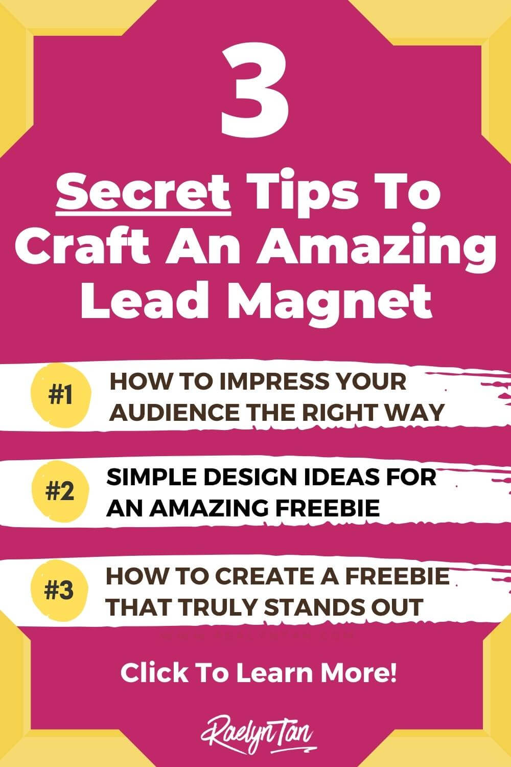 Here are 3 lead magnet ideas for coaches, to grow your email list fast! These are great lead magnet ideas for photographers, artists, interior designers, travel, bloggers etc. Examples included! Finally get your landing page to convert with these tips :)